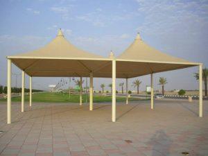 المظلات للمنتزهات والشوارع